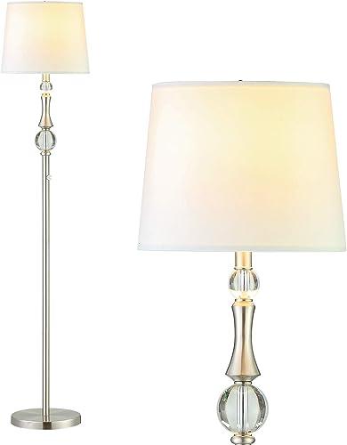 Dimmable White Floor Lamp Reyokale