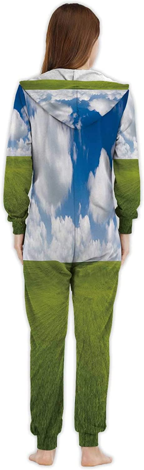 C COABALLA Colorful Works and Bokeh s Concept Italy,Womens Onesie Pajamas Sportswear Backgrounds M