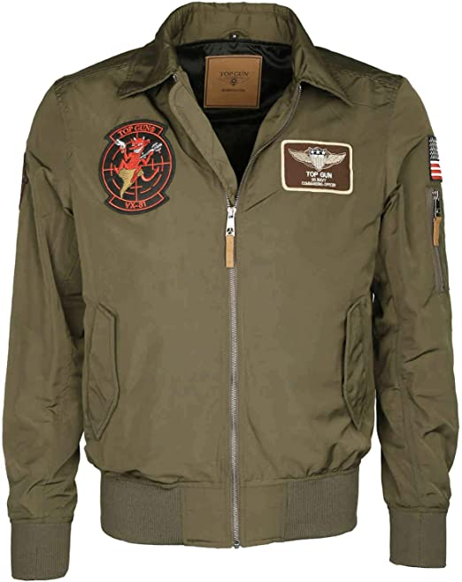 Top Gun Herren Winterjacke Jacke Bomber TGNJ 100 3037 olive