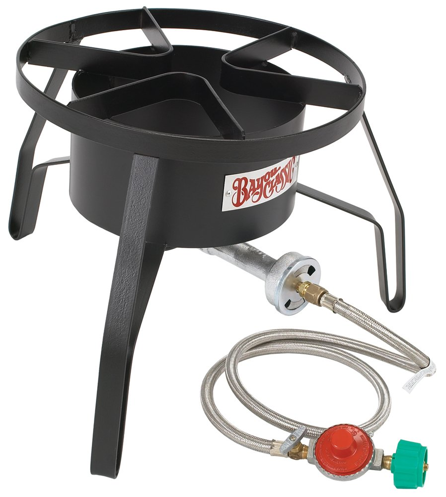 Amazon.com : Bayou Classic SP10 High-Pressure Outdoor Gas Cooker ...