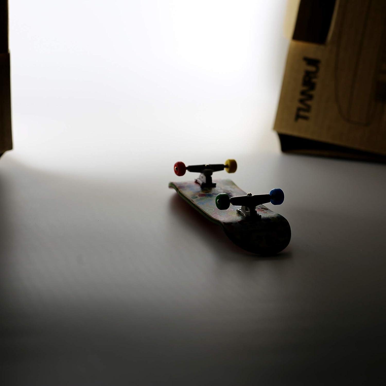 Deck,Truck,Wheel // a Set NOAHWOOD Wooden PRO Fingerboards U Pool