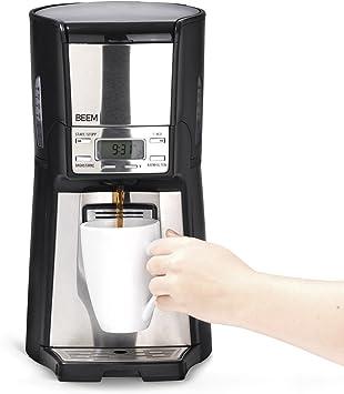 Cafetera de filtro de Beem 1410SR, 1030 W, función de filtro ...