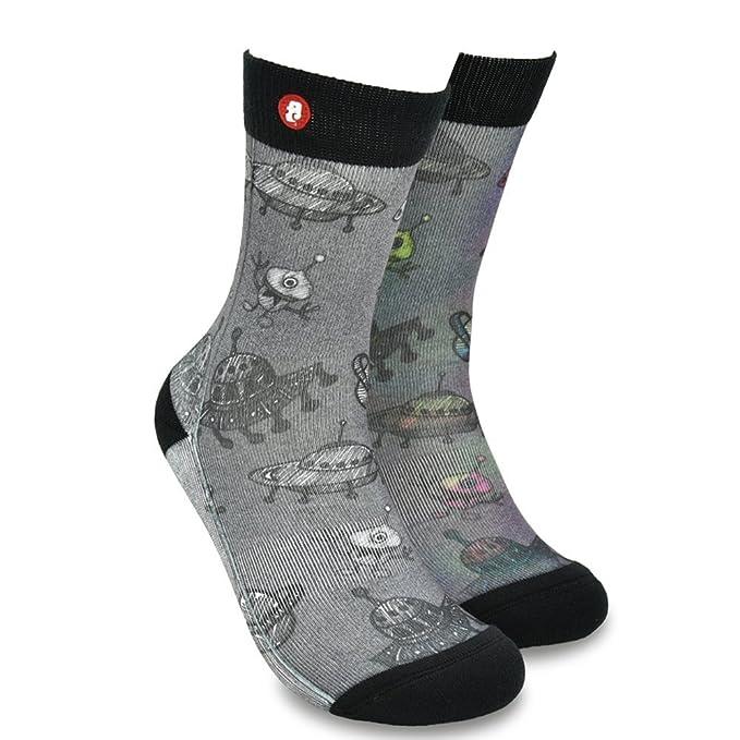 Fools Day calcetines cinco dedos hombre, calcetines antideslizantes, cinco calcetines de los dedos,