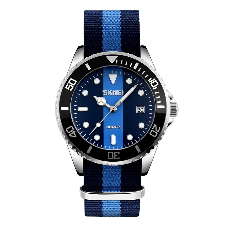 Calmメンズ腕時計/防水Quartz Watches /レトロリボンwatches-b B06XCSRZY6