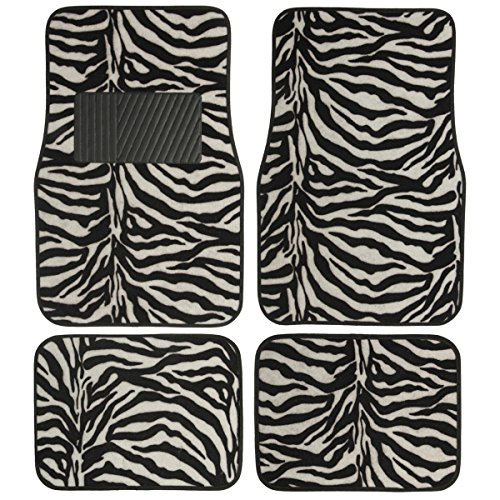 White Black Stripes Zebra Print product image