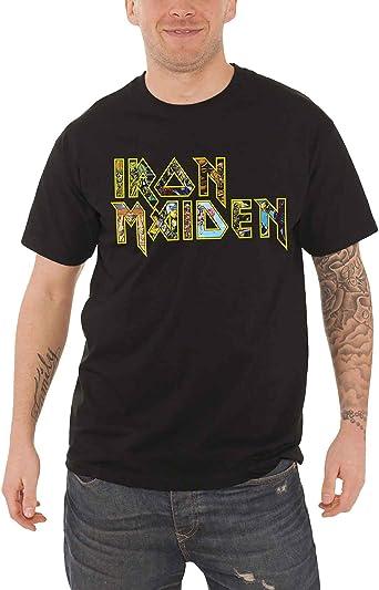 Iron Maiden Camiseta Eddie Band Logo Album Montage Oficial ...