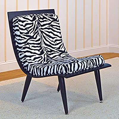 Amazon.com: Canguro Rave silla con, diseño de cebra, Blanco ...