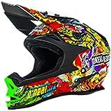 Oneal Black-Multi 2017 7 Series Evo Crank Mx Helmet (M , Black)