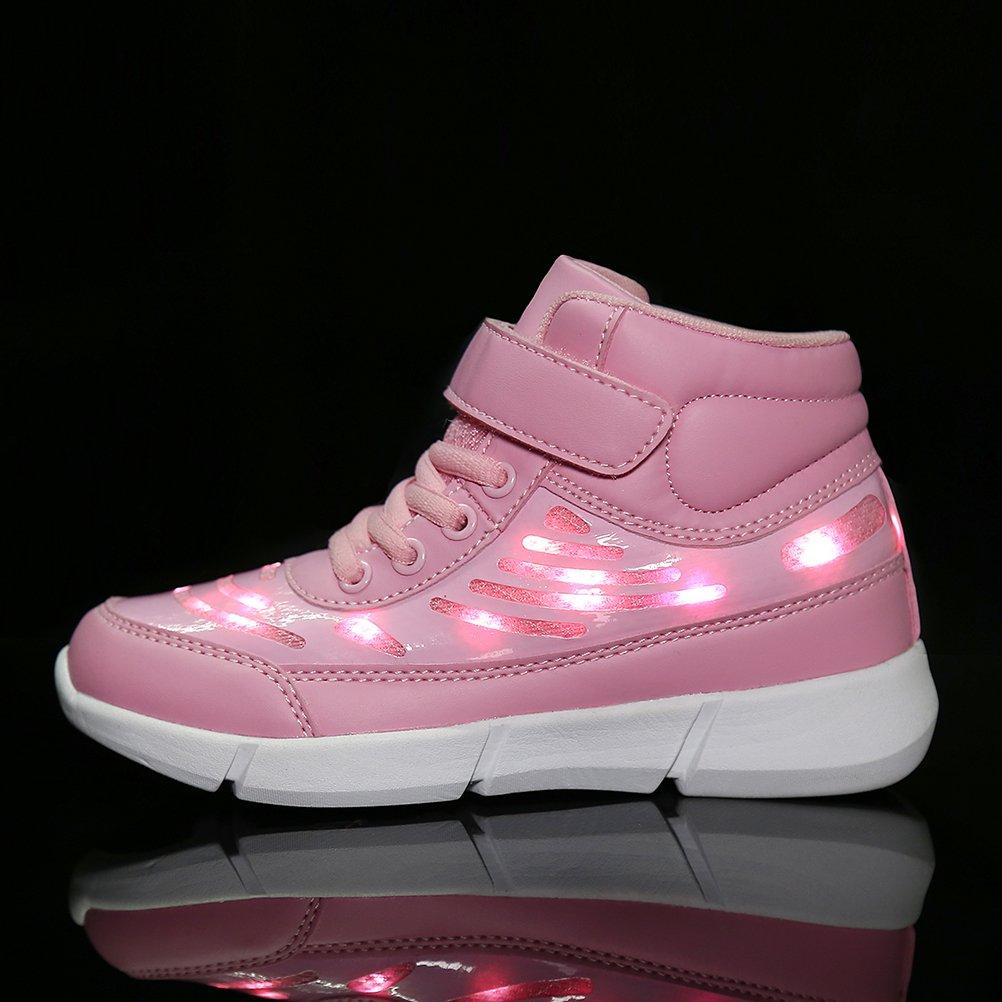 low priced f6a45 4b205 Dannto Kinder LED Schuhe Leuchten Sportschuhe Leuchtschuhe ...