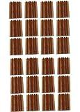 Aerzetix: Lot de 120 mèches longues 10cm pour kit de réparation de pneu voiture auto moto - C1648