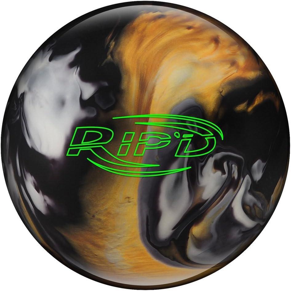 ハンマーRip 'd Bowling ball-ブラック/ゴールド/ホワイト( 14lbs )