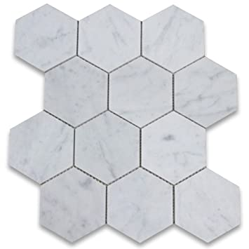 Delighted 1 Inch Ceramic Tiles Tall 18X18 Tile Flooring Square 20X20 Ceramic Tile 2X4 White Subway Tile Old 4X12 Glass Subway Tile Fresh6 Ceramic Tile Carrara White Italian Carrera Marble Hexagon Mosaic Tile 4 Inch ..
