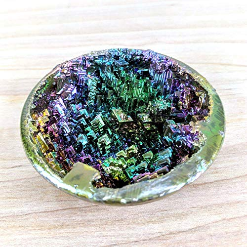Bismuth Crystal Geode Large Specimen for Collecting,Wire Wrapping,Wicca and Reiki Crystal Healing