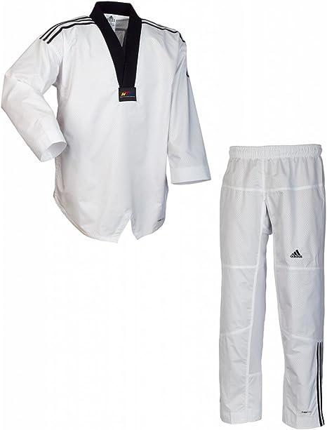 Adidas DOBOK da Taekwondo Adi-Contest 3 Collo Nero 160