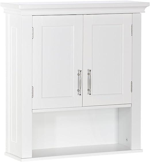Amazon Com Riverridge 06 039 Wall Cabinet White Home Kitchen