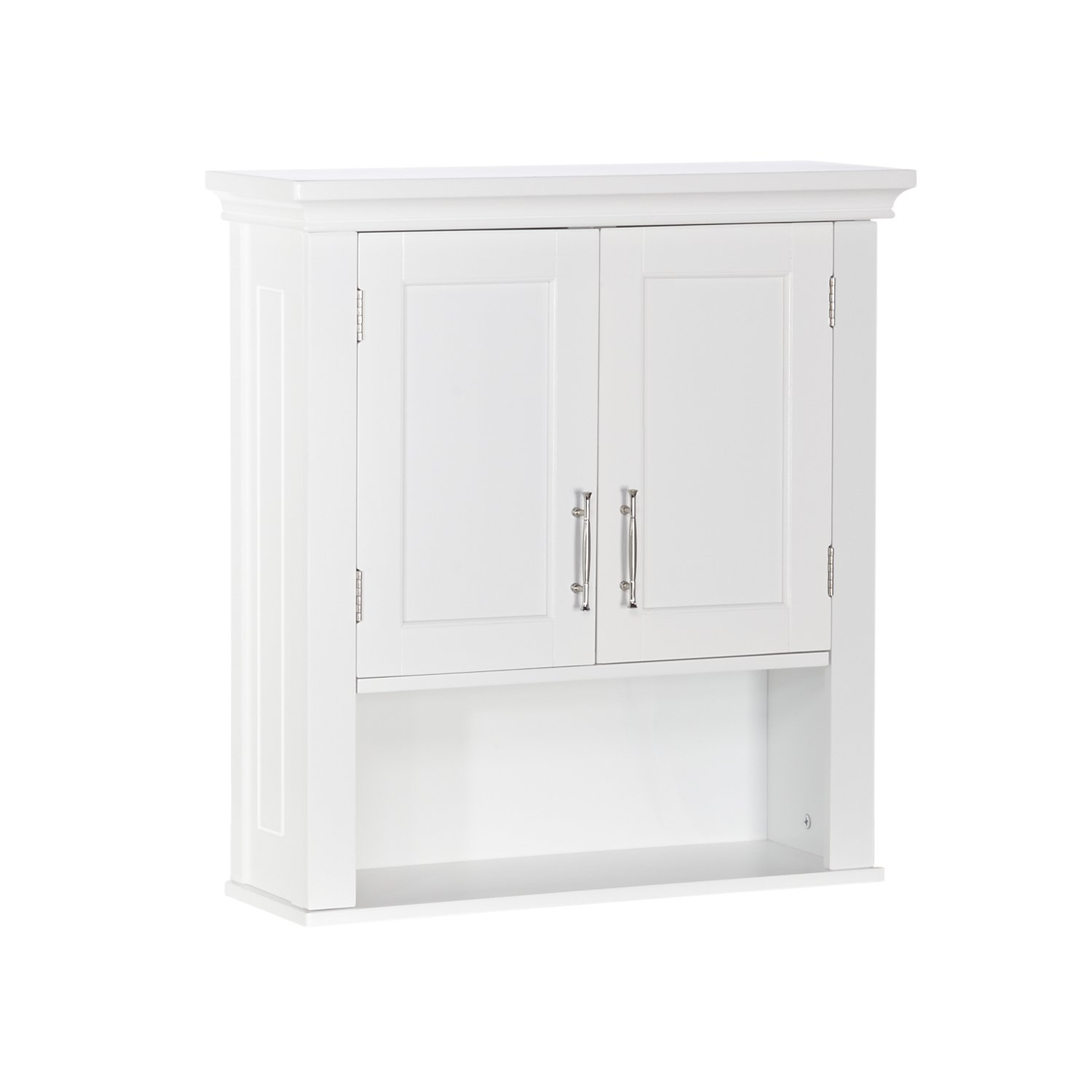 RiverRidge Somerset Collection Two-Door Wall Cabinet, White by RiverRidge Home