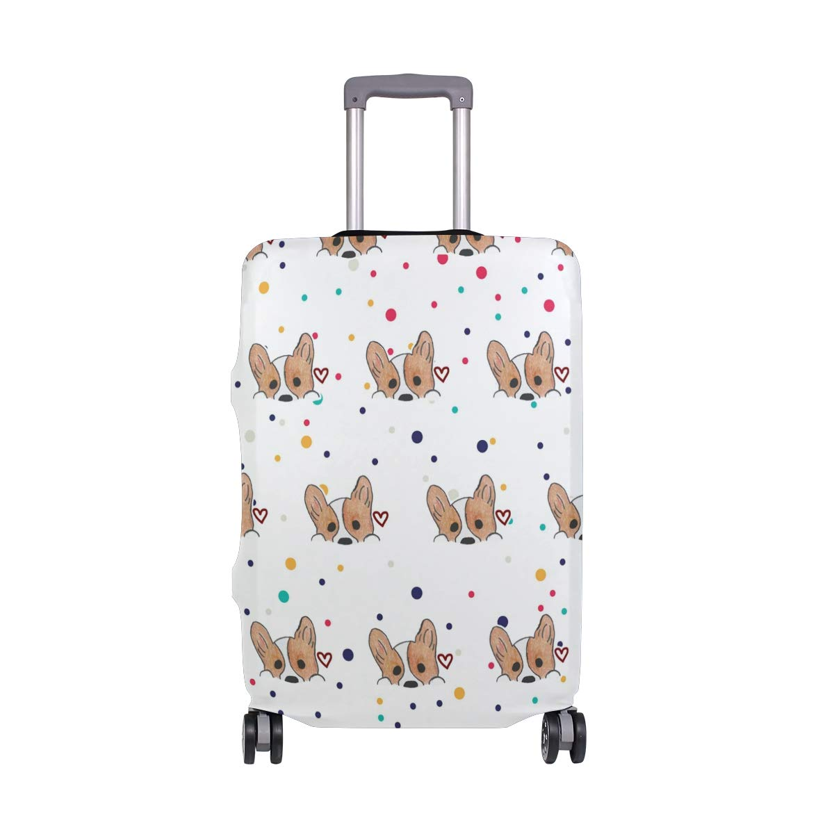 My Love Travel Luggage Cover - Suitcase Protector HLive Spandex Dust Proof Covers with Zipper, Fits 18-32 inch