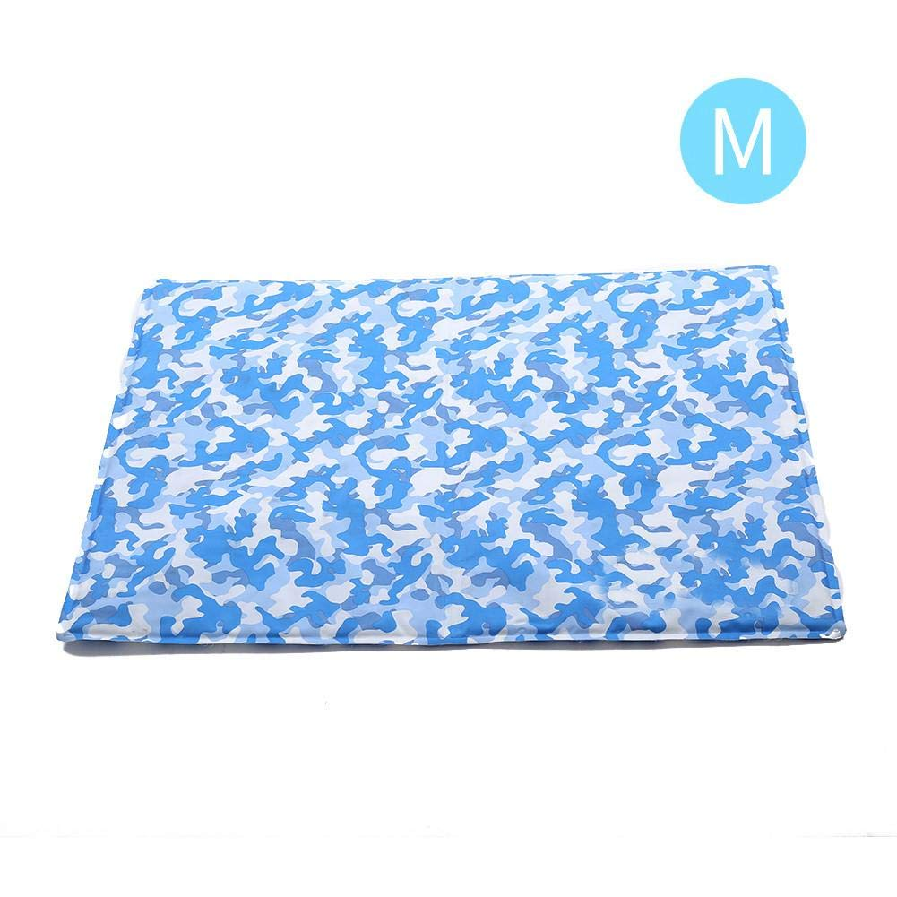 M2 Pet Dog Self Cooling Mat Pad for Kennels, Crates and Beds Dog Gel Cooling Mat Summer Cooling Pad