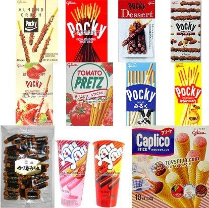 Popular Great Taste Japanese Snacks(14 Packs) by Pocky