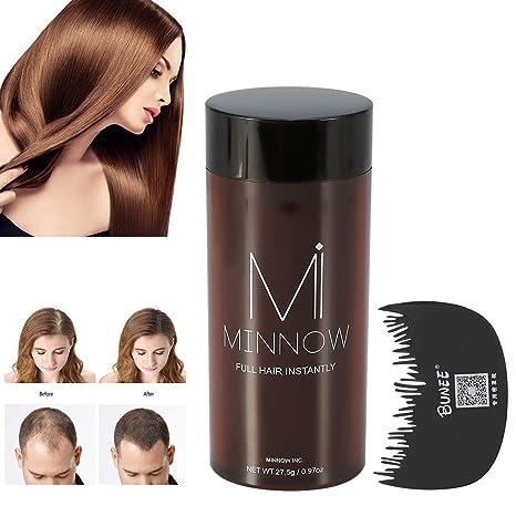 Tratamiento para Cabello Crecimiento Fibras de Pelo disimular caída de cabello construcción del cabello Polvos Calvicie