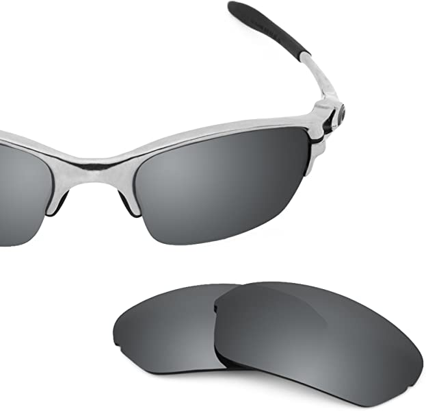 b1abadd35b8 Revant Polarized Replacement Lenses for Oakley Half X Black Chrome  MirrorShield