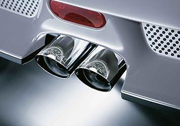 Mini Genuine Jcw Exhaust Tailpipe Trim Tip Finisher Chrome R52 R53