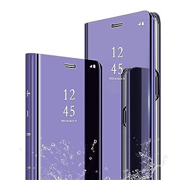 coque avec rabat samsung s9 violet par amazon