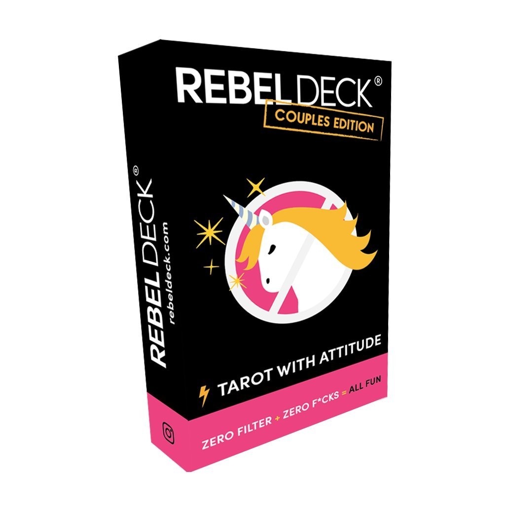 REBEL DECK Couples Edition - Tarot with Attitude - Oracle deck (60 cards)