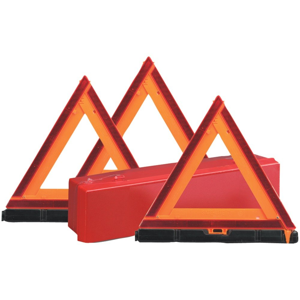 SATE-LITE 73-0711-00 Early-Warning Triangle Triple Kit Computers, Electronics, Office Supplies, Computing