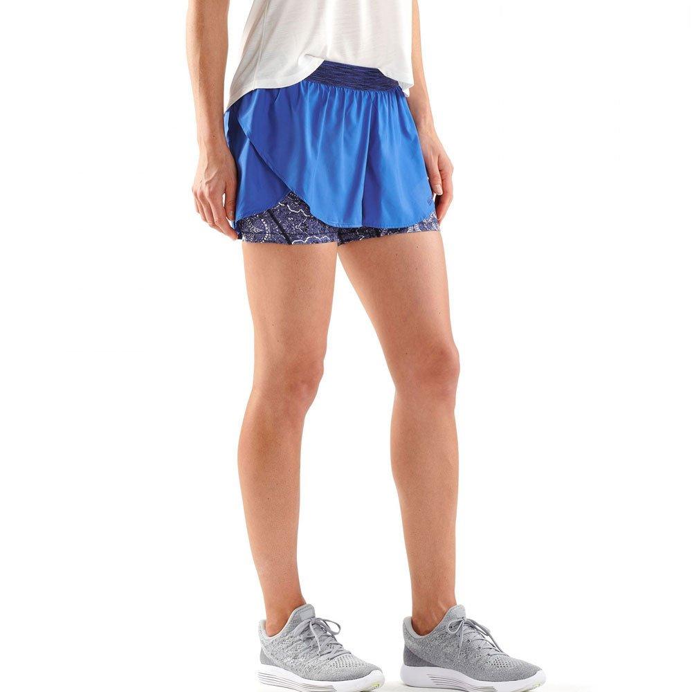 Skins DNAmic Compresi/ón Superpose Womens Pantalones Cortos