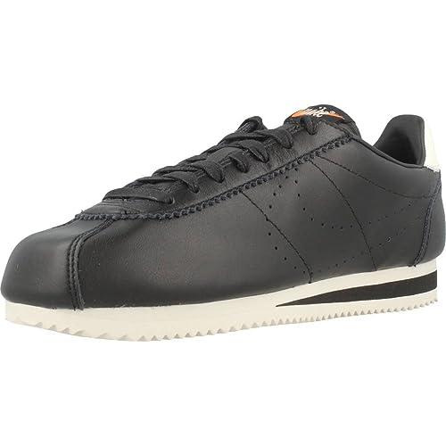 Calzado Deportivo para Hombre, Color Negro, Marca NIKE, Modelo Calzado Deportivo para Hombre NIKE Classic Cortez Leather Prem Negro: Amazon.es: Zapatos y ...