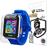 IPG for VTech Kidizoom Smartwatch DX2 Watch Screen Protector (2 Units) Invisible Ultra HD Clear Film Anti Scratch Skin…