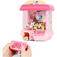 Claw Machine,Claw Machine Doll Clip Toy Grabber Catcher,Remote Control Automatic Clip Doll ToyElectronic Coins Dolls…