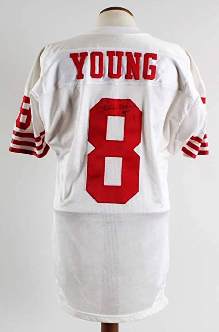 quality design ec0a7 ecd0b Steve Young Autographed Jersey - Game Worn - COA 100% Team ...