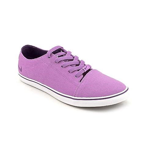 Nike Starlet Canvas - Zapatillas de tenis de lona para mujer Violet Pop/Club Purple-White, color púrpura, talla 35.5: Amazon.es: Zapatos y complementos