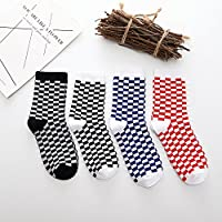JSGJWWZZ Men's Socks Harajuku Street BF Wind Black