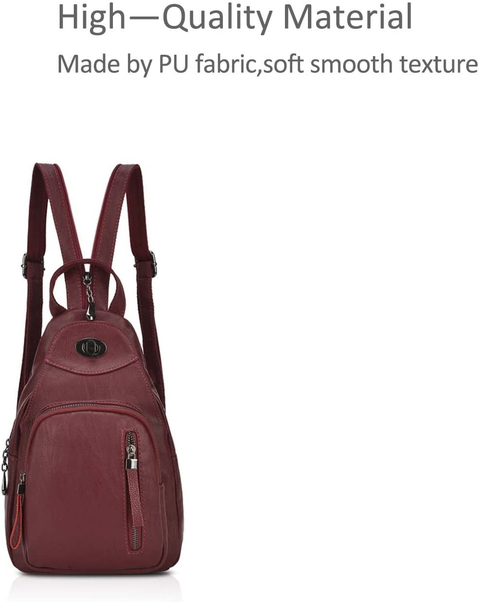 NICOLE /& DORIS Modemarke M/ädchen Rucksack Mini Rucksack Kleine frische Art praktisch und bequem Blau