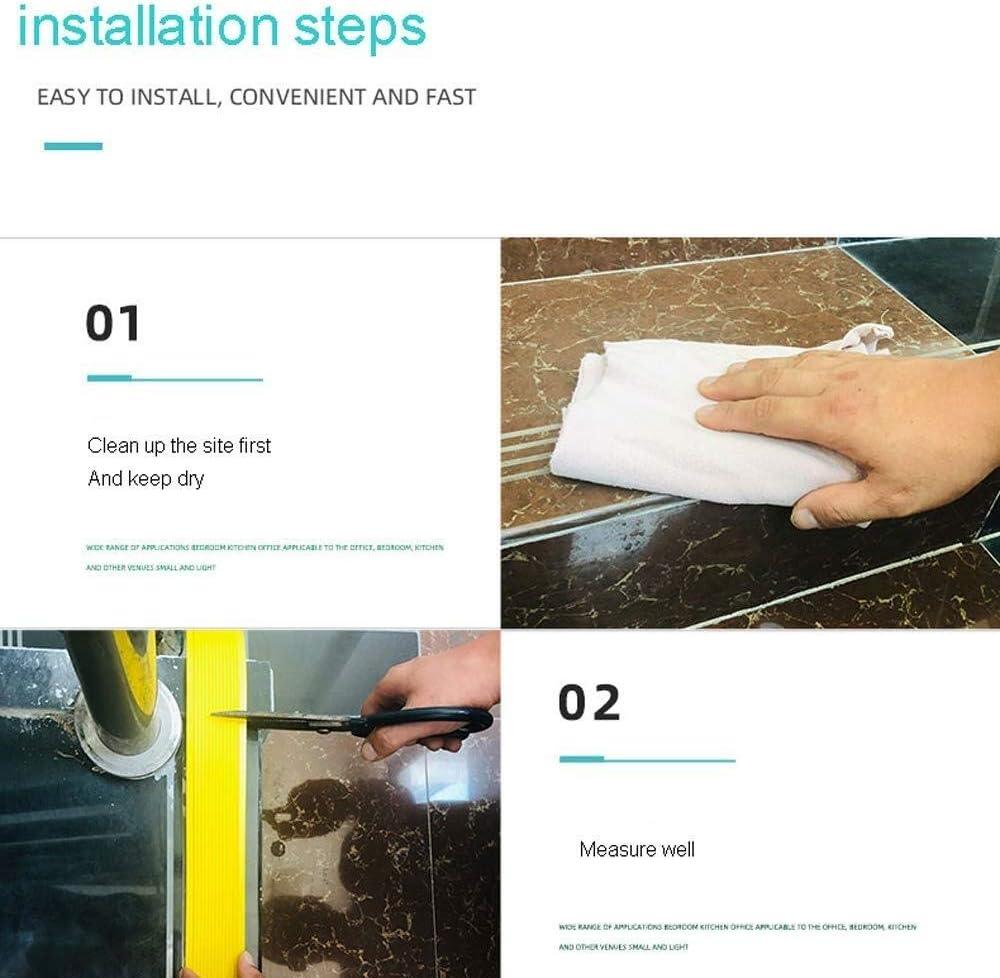 Self-adhesive Stick-Down Edging Tread Strip Stair Nosing Step Anti Non Slip Stair Edge Nosing Trim Pvc Edging Tape For Living Room Stairs,kindergartens,hotels(1m)