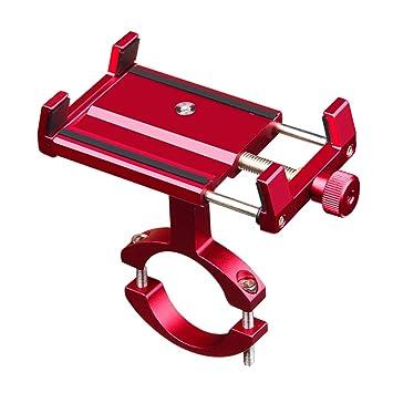 CHEREEKI Soporte Movil Bicicleta, Soporte Universal Manillar para con rotación de 360 ° Soporte de Montaje para iPhone x/6/7/8/7 Plus, Samsung S 8/ S ...