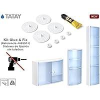 TATAY 4489901 - Kit de adhesivo + bases