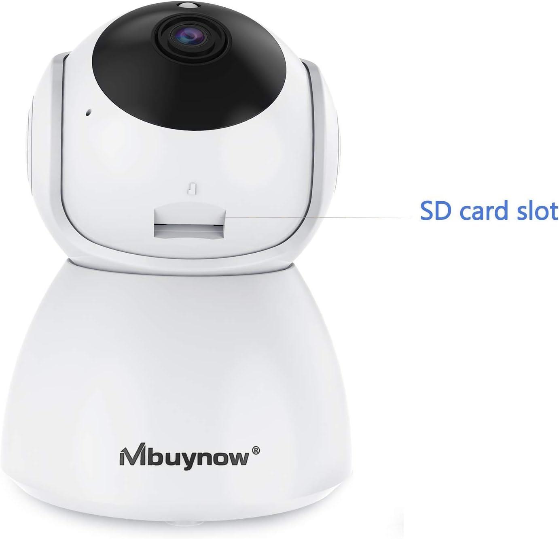 Mbuynow IP cámara WiFi camaras de Vigilancia inalámbrico HD Zoom ...