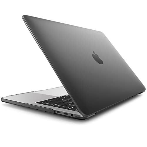 """MacBook Pro 15 Case 2016 & 2017, i-Blason Smooth Matte Frosted Hard Shell Cover for Apple MacBook Pro 15"""" inch A1707 with Retina Display 2016&2017 Release fits Touch Bar & Touch ID Ver. (Black)"""