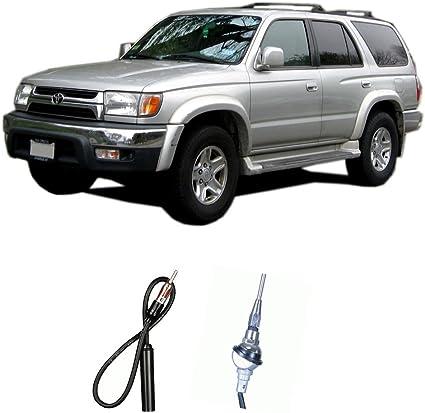 1998-2005 - Toyota Prado 1996-2002 - Toyota Hilux AntennaMastsRus 1996-2002 Power Antenna Mast is Compatible with Toyota 4 Runner