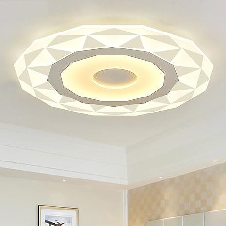 joeyhome Ultrathin acrílico moderno LED techo para salón ...