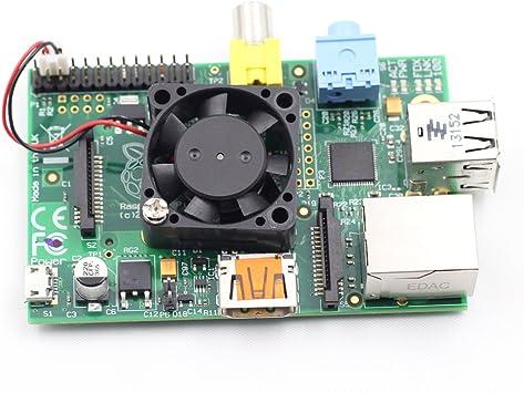 SunFounder - Mini silencioso ventilador de refrigeración para ...