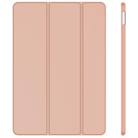 JETech Funda Compatible iPad Air 10,5 (3ª Generación 2019) y iPad Pro 10,5 2017, Carcasa con Soporte Función, Auto-Sueño/Estela, Rosa