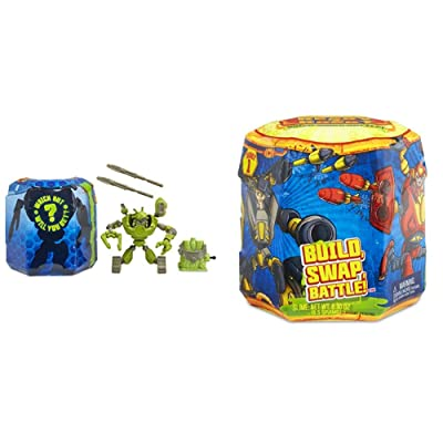 Ready2Robot 553908 Double Trouble Battle Pack and Singles Series 1 - 1 (Myster Pack) - Bundle: Toys & Games