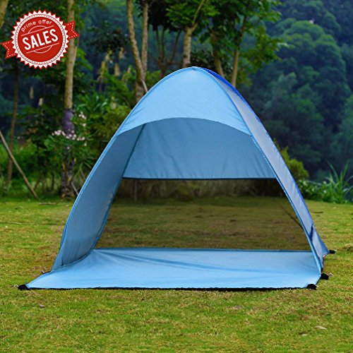 ICOCO Pop Up Tent Outdoor 2-3 Persons Quick Automatic Pop up Instant...