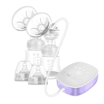 02ed474535e3e USB Rechargeable Electric Breast Pump