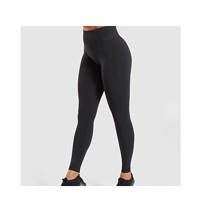 Amazon.com: LinJiaJia_shop Leggings para mujer, sin costuras ...